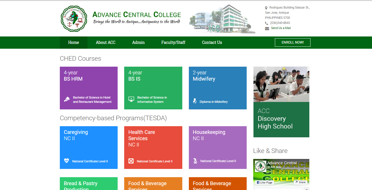 Advance Central College